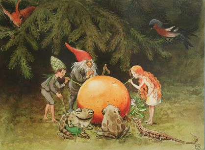 This is the first in a series of posts having a good look at some of our favourite authors and illustrators here at Dragonfly. Of course Elsa Beskow was always