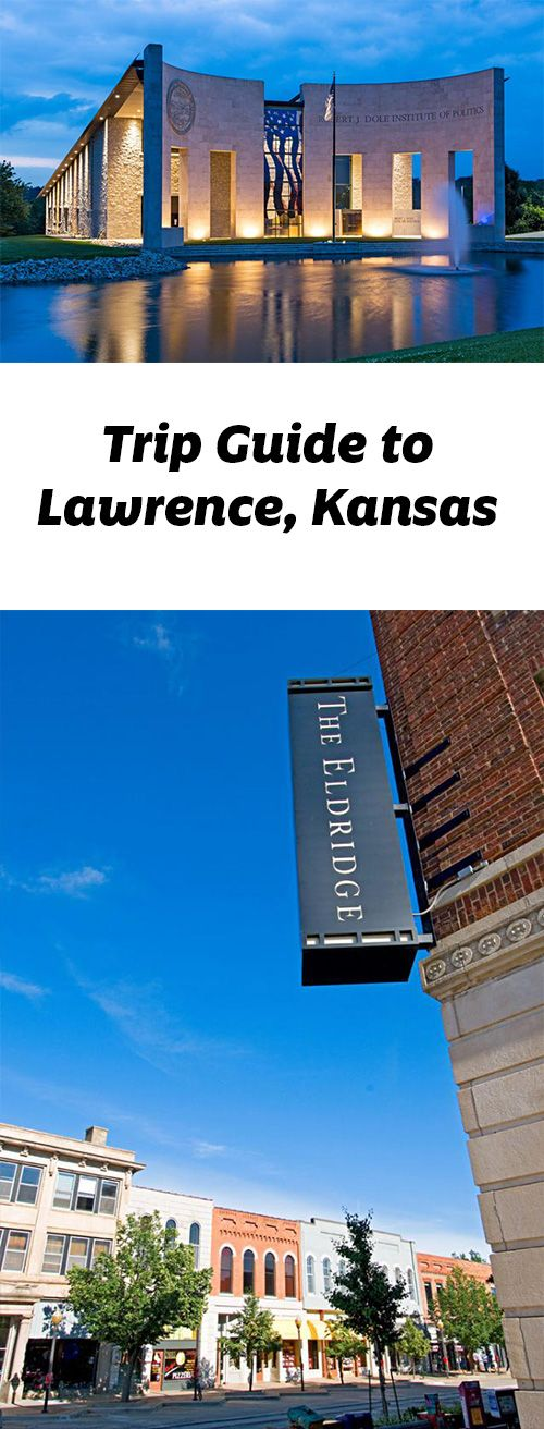 The home of the University of Kansas provides an education in history as well as good shopping and dining. Trip guide; http://www.midwestliving.com/travel/kansas/lawrence/lawrence-trip-guide/