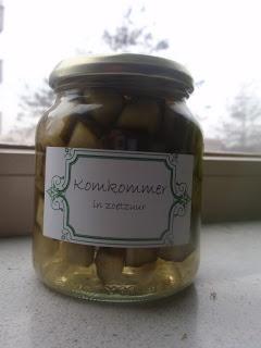 Tante Marijke: Komkommers inmaken