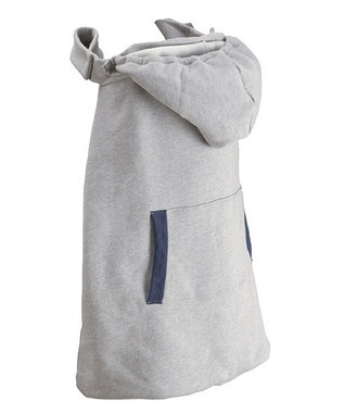 Hooded blanket that attaches to straps of Ergo -- this would be really easy to make!