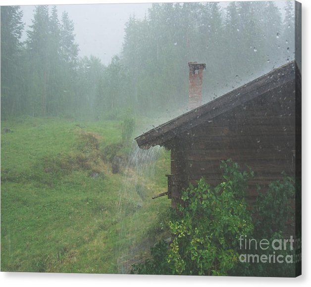 Buy a 20.00 x 16.00 stretched canvas print of Sverre Andreas Fekjan's A rainy day for $59.00.  Only 9 prints remaining.  Offer expires on…