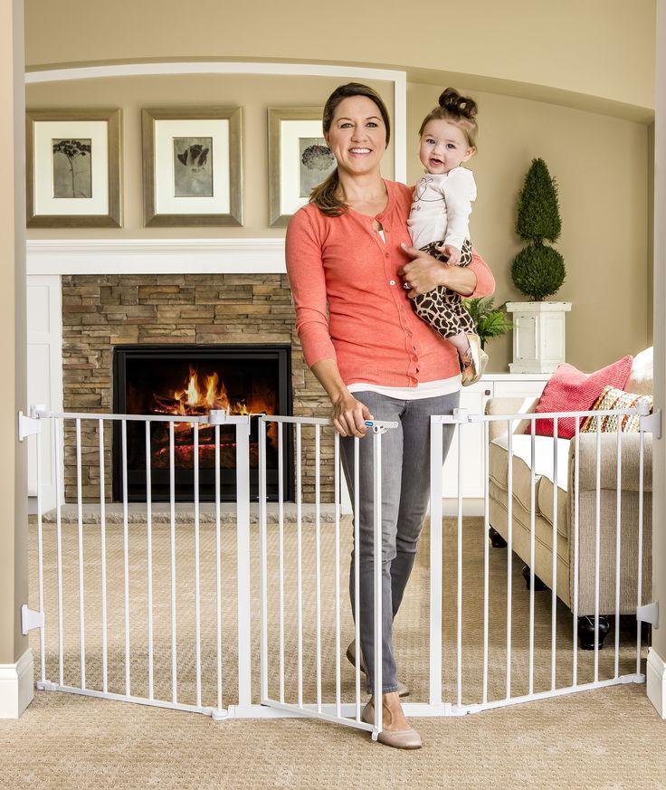 Regalo Extra Wide Flexi Baby Gate