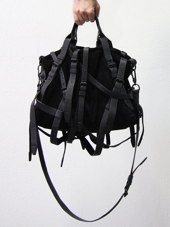 If Edward Scissorhands was fabulous, he'd have this alexander wang handbag.