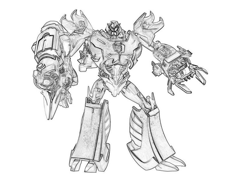 transformers cybertron coloring pages - photo#12