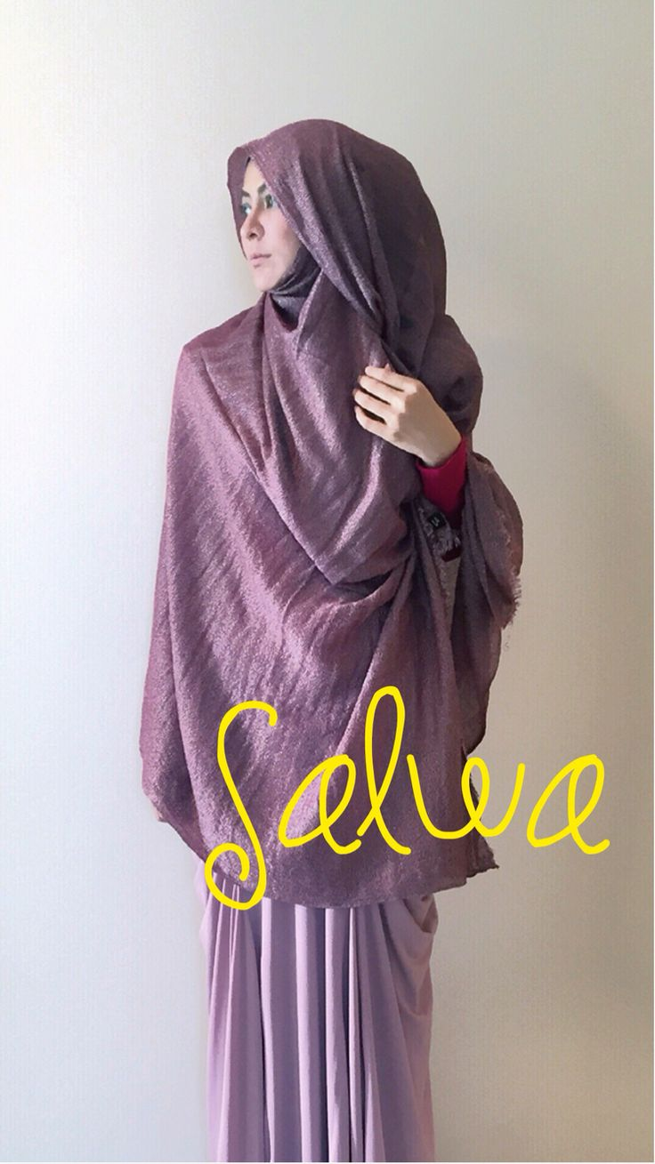 salwa shawl Limited shawl  Only 3 color  More info  Be you,Be syar'i,Be a great muslimah For order/info  admin Wa +62813-2202-1001|| PIN BB 5276d7aa Open Monday-Friday 8am-10pm No spam please