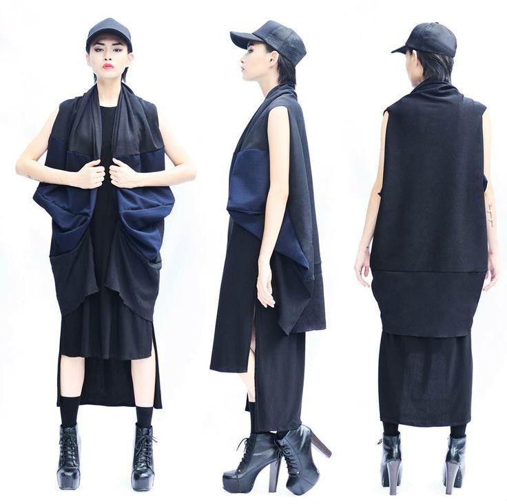 Pearly Wong Capsule II #pearlywong #lookbook #minimal #minimalist #bnw #basic #monochrome #clothes #fashion #style