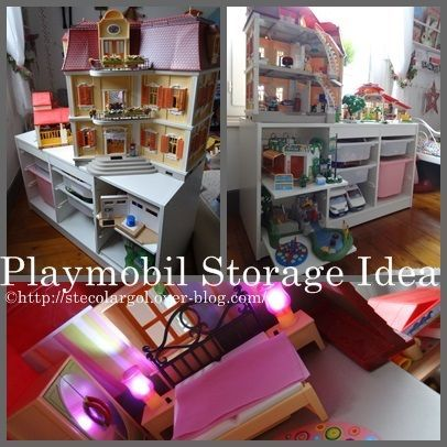 25 beste idee n over rangement playmobil op pinterest. Black Bedroom Furniture Sets. Home Design Ideas