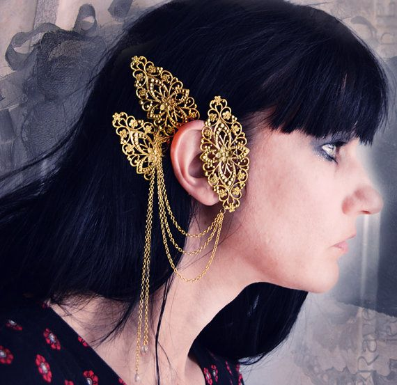 Raven Eve Jewelry: Awesome Art Nouveau Headdresses ··· | ··· Your Fantasy