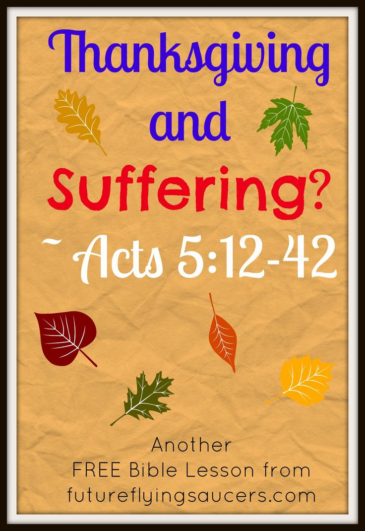 Why Does God Allow Suffering? (A Bible Study) - Soul ...