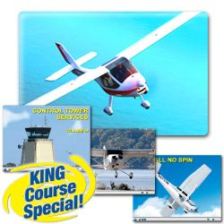 Sport Pilot (Airplane) Written and Checkride Combo - DVD for Windows - Includes Knowledge Exam Prep & Checkride Prep (Oral & Flight) - Plus 4 additional flight skills courses. Guarantee you pass both the FAA Knowledge Test and Checkride.