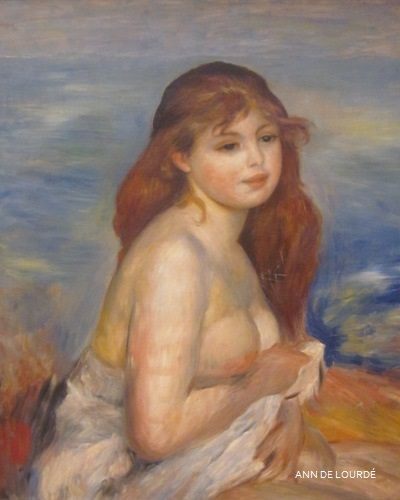 After the Bath by Pierre-Auguste Renoir ca 1886, Autumn 2012, The National Gallery, Oslo.