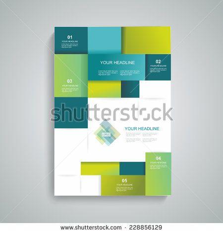 27 best Folded leaflets images on Pinterest Flat design, Flyers - annual report template design