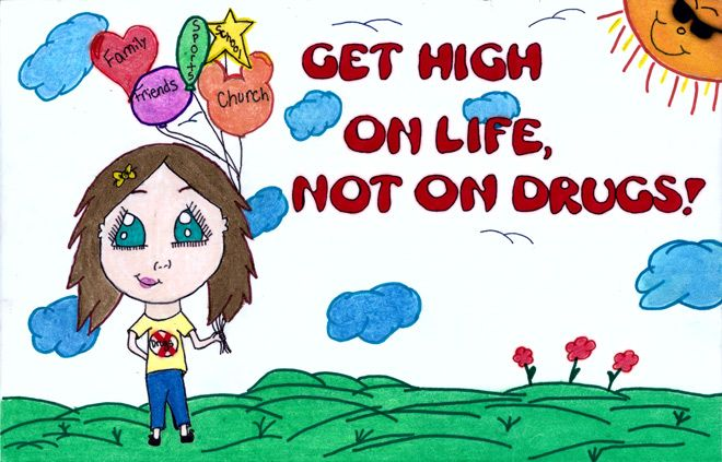 000 drug free awareness Substance Abuse Posters Free I