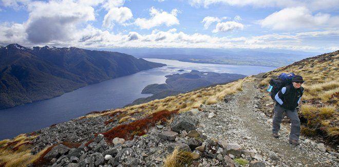 Kepler Track in Fiordland National Park. #NewZealand