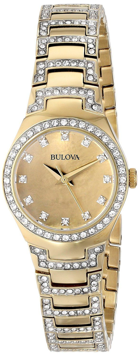1000 ideas about gold watches for michael women gold watches bulova women s analog display ese quartz two tone watch pepino lady fashionista