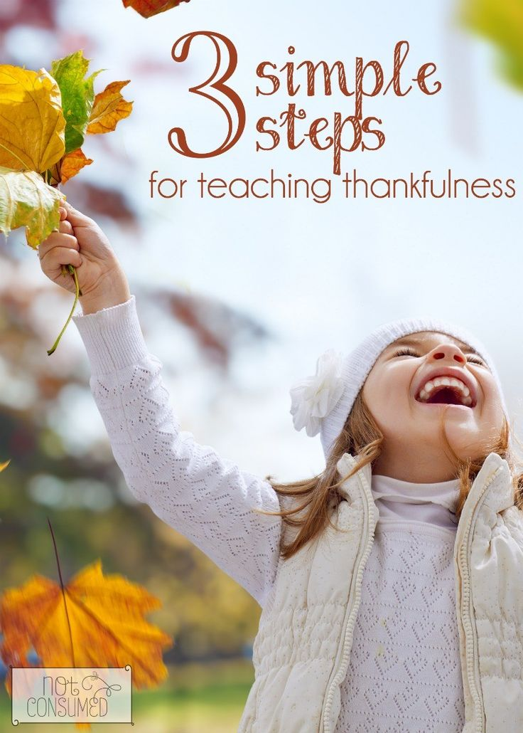 Looking for ways to teach thankfulness? I'm sharing 3 simple steps, plus thankfulness books, thankfulness activities and resources.