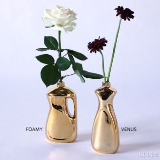 Araki Midori / Bottle Flower Vase