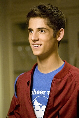Jean-luc bilodeau. I don't watch Baby Daddy, but he is too cute!