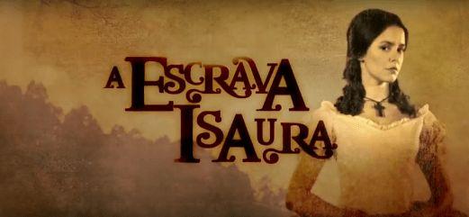 """Record anunciou data de estreia da reprise de """"A Escrava Isaura"""", a novela substituirá """"Escrava Mãe"""" que está em sua reta final. """"A Escrava Isaura"""" conta.."""