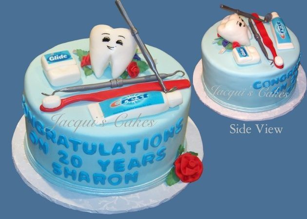 Dental Cake — Anniversary