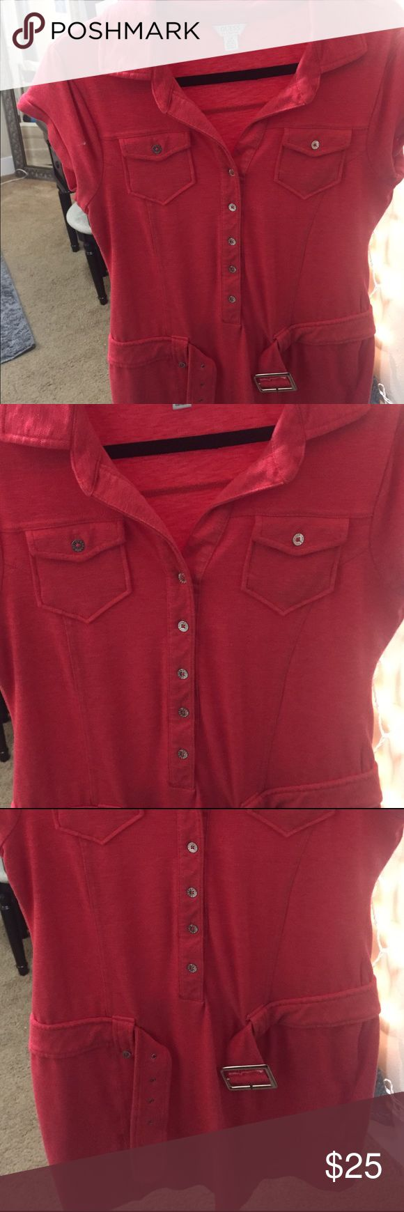 G by guess red dress 99