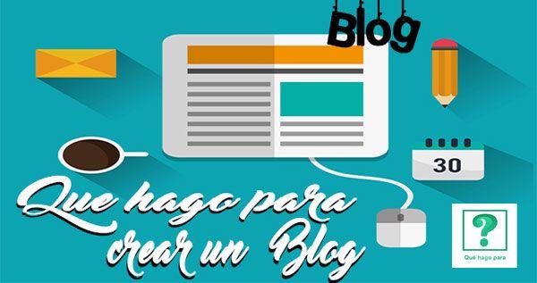 Para los que queréis crear un blog desde cero os dejamos unas nociones básicas de cómo hacerlo y conceptos básicos para empezar la carrera en internet
