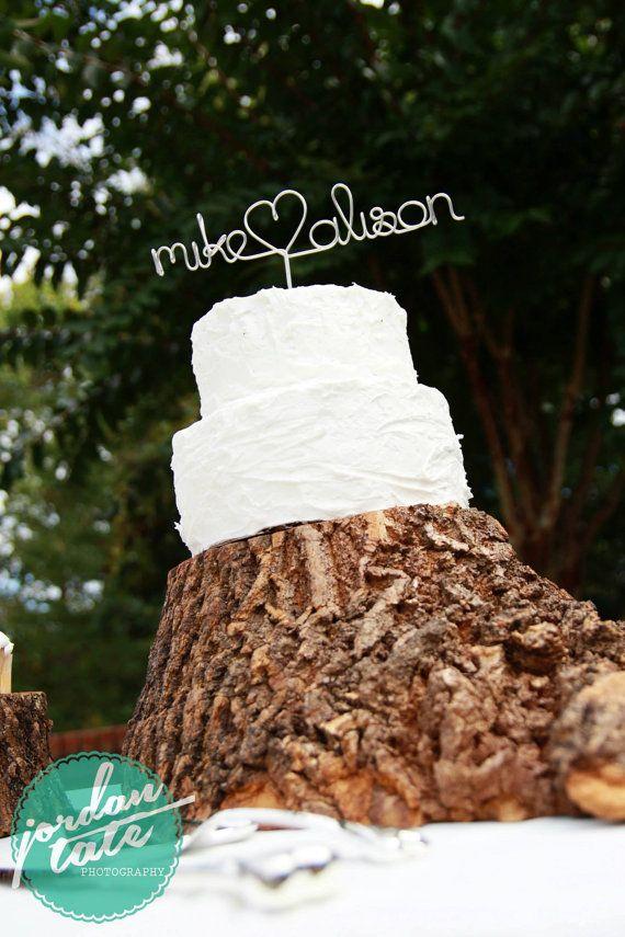 Custom Cake Topper  We Do Wedding Cake Topper by DeighanDesign, $28.00