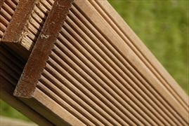 Hardwood Decking Boards Hardwood Balau Decking (90mm x 19mm)