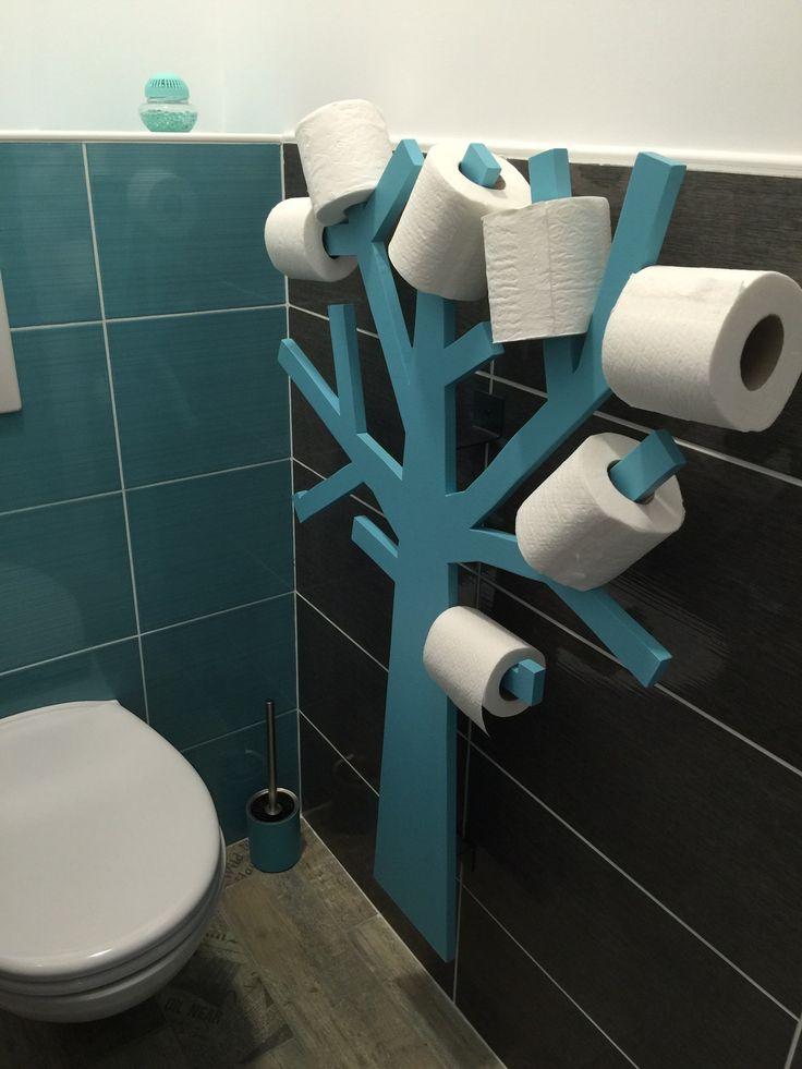 Les 25 meilleures id es de la cat gorie rangement papier toilette sur pinterest rangement pour for Range rouleau papier toilette