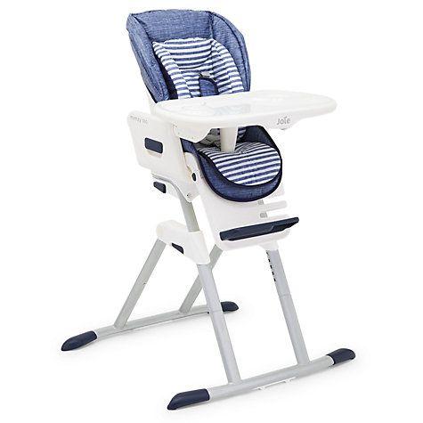 Buy Joie Baby Mimzy 360 Highchair, Denim Online at johnlewis.com £150