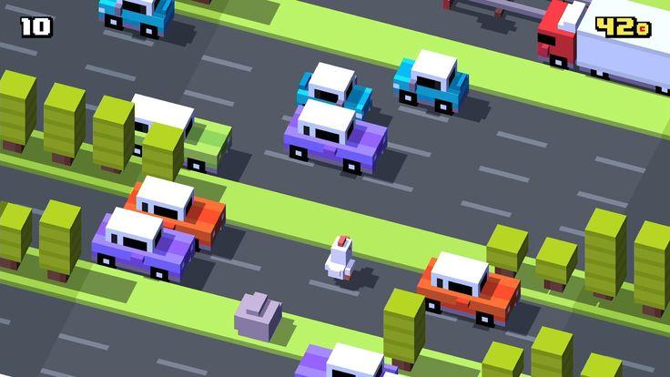 Play Crossy Road on Apple TV