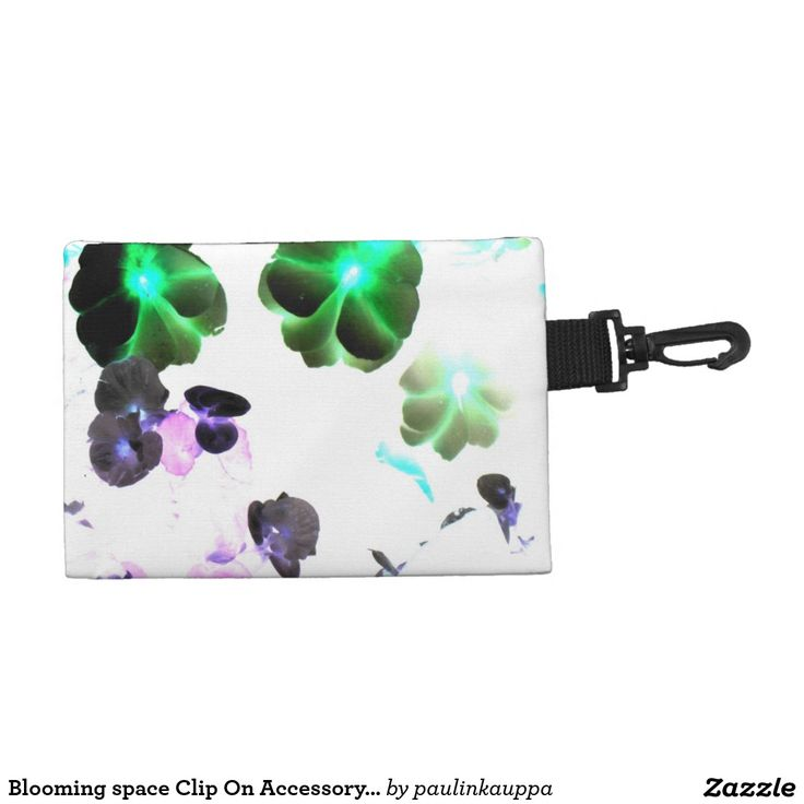 Blooming space Clip On Accessory Bag