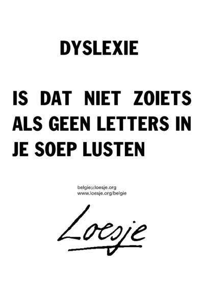 Wat is dyslexie? Uitgeled in heldere taal   Q4D