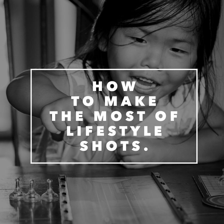 How to make the most of lifestyle shots