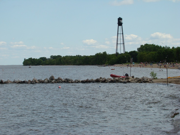 Classic Winnipeg Beach view, the water tower.