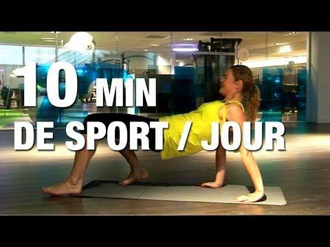 ▶ Fitness Master Class - 10 minutes de sport par jour - YouTube
