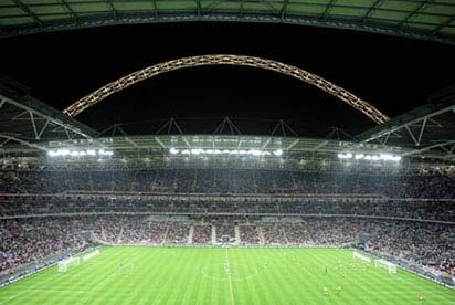 Child Tour of Wembley Stadium wembley is the second largest stadium in europe with a capacity of 90,000. as you approach down wembley way your eye is immediately drawn to the huge arch that overshadows the entire stadium. englands http://www.MightGet.com/january-2017-12/unbranded-child-tour-of-wembley-stadium.asp