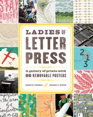 Ladies of Letterpress is an international trade organization (founded in the U.S.A. in late 2007) to promote the art and craft of letterpress printing and to encourage the voice and vision of women printers. We strive to maintain the cultural legacy of fine press printing while advancing it as a living, contemporary art form as well as a viable commercial printing method. Membership is open to both men and women. (LadiesOfLetterpress.com)
