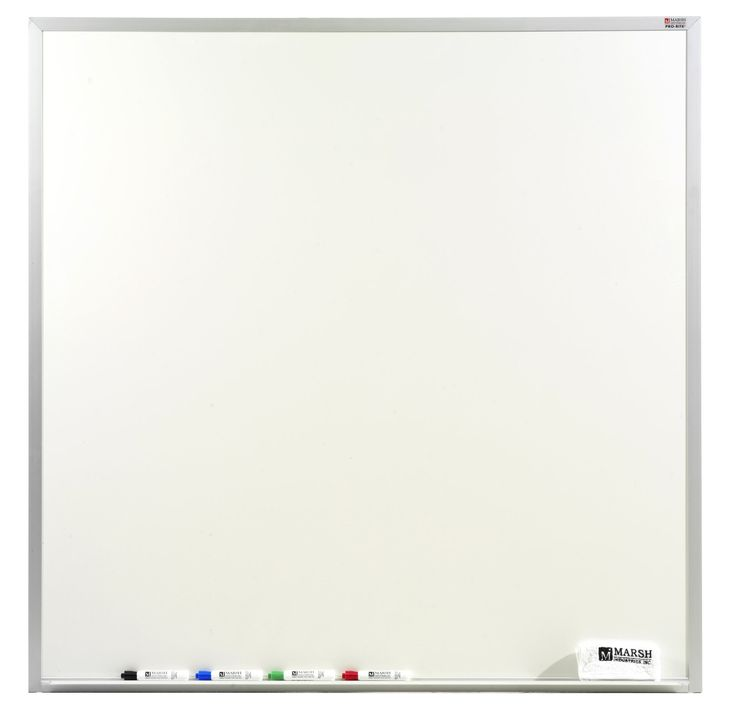 Pro-Lite Wall Mounted Magnetic Whiteboard