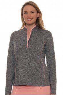 Women Golf Wear | EP Pro J'Adore Golf Long Sleeve Shirt : 6642KD