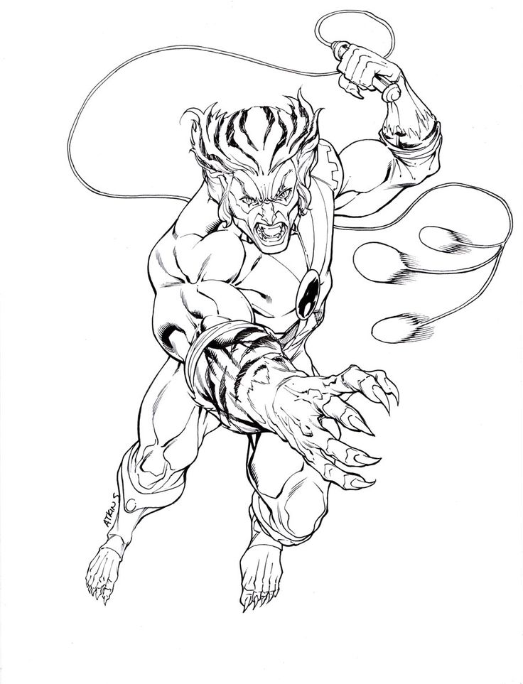 Thundercats Coloring Pages To Print