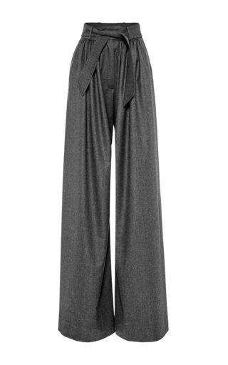 Martin GRANT   Wide Leg Wool Pant