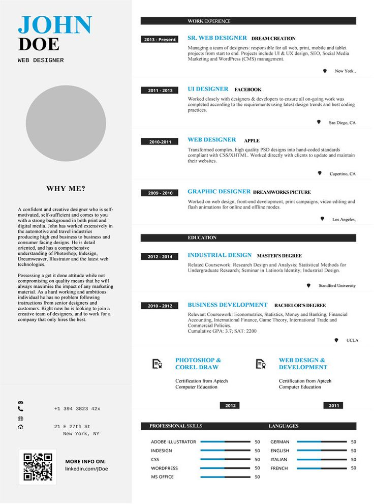 New Resume Template with 40 Discount Check it out here!   - web designer resume template