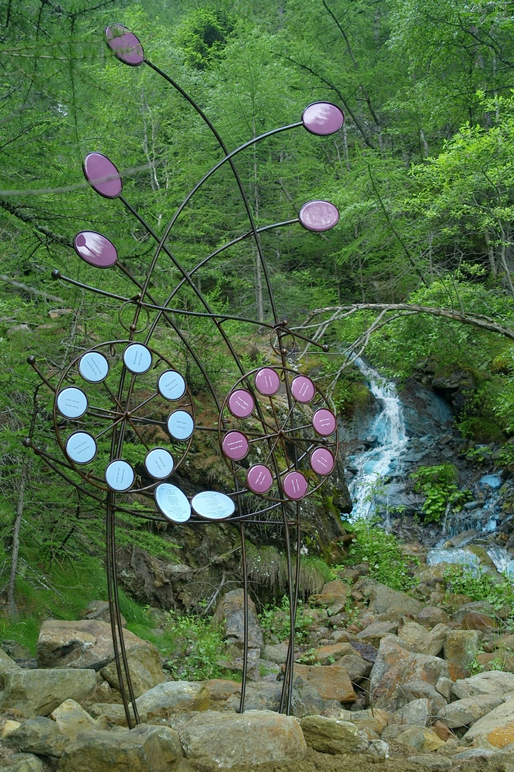 Oracolo terzo delle acque verdi in Saint-Marcel, Valle d'Aosta