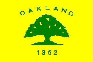 Flag of Oakland, California
