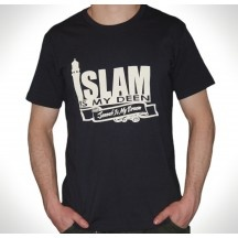 Islam Is My Deen - Jannah Is My Dream Muslim T shirt, Just £9.99. IWANTSOBADLY!