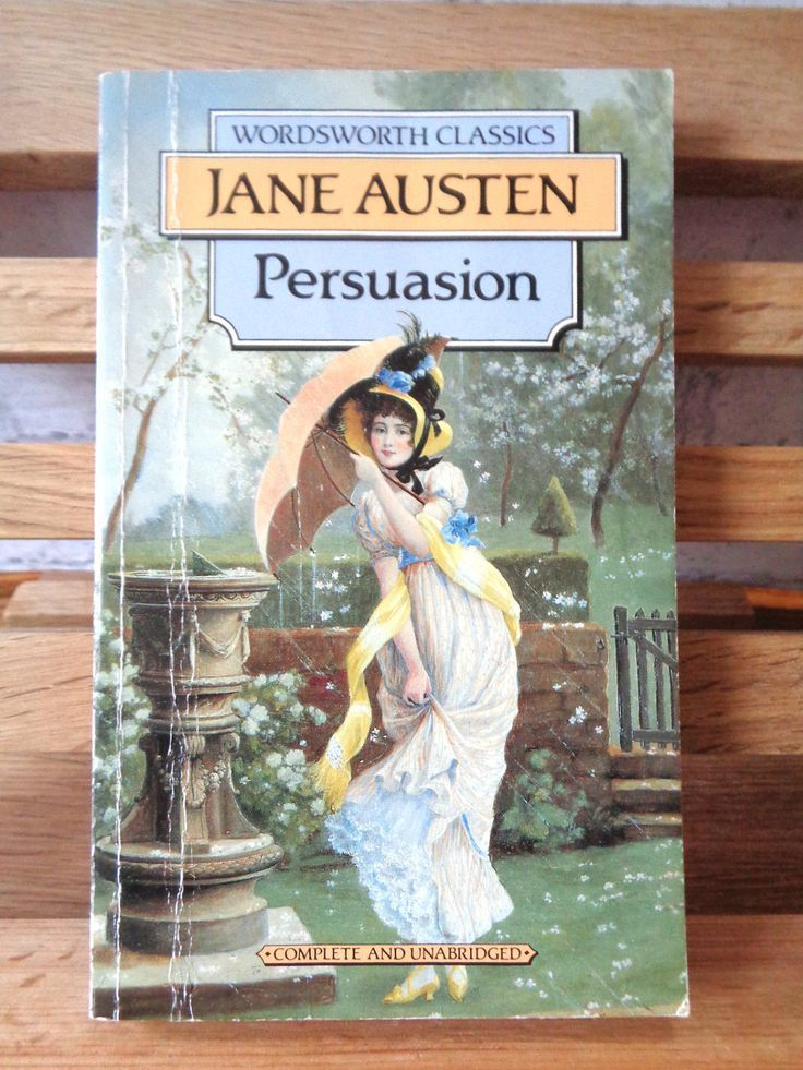 Vintage Paperback Book Persuasion Jane Austen Fiction Book