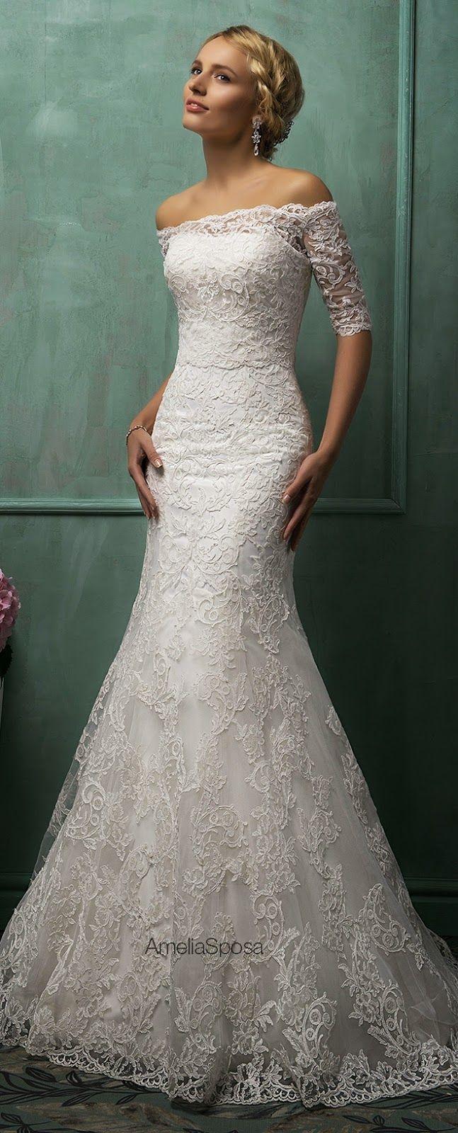Bellissimi abiti da sposa dalla collezione Amelia Brides 2014