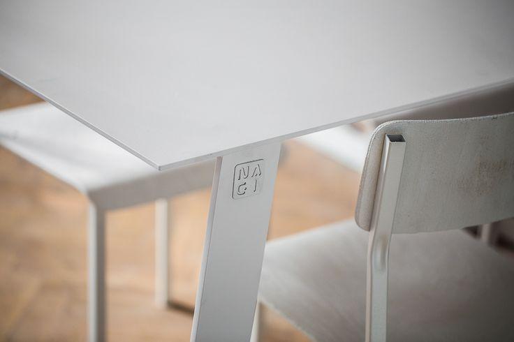 NAGI Dining Table, hand made furniture, simple design, interiors, modern, minimal