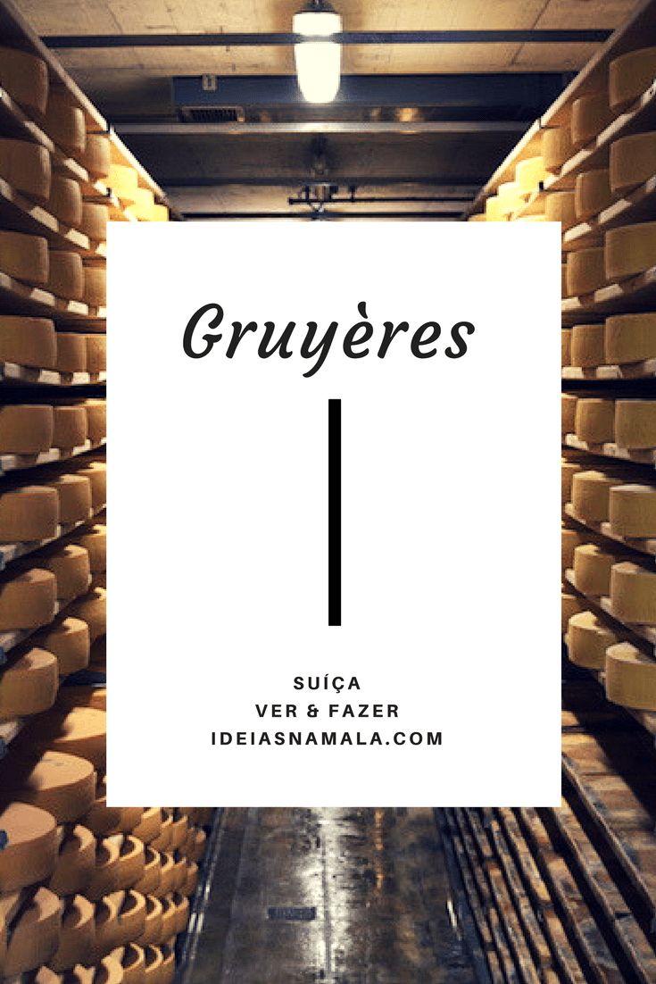 Como pensar em Gruyères e não pensar em queijo é impossível, começarei minha sugestão de passeios pelo que interessa: o autêntico queijo Gruyere! Que tal ver de perto uma das plantas de produção do queijo?
